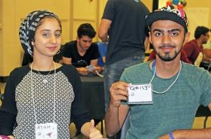 Ayah and Qaisy-Nametags
