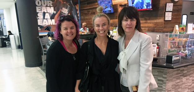 CLT International_Karen Kendall, Alishia Sullivan, Patricia Shafer_Oct. 2017