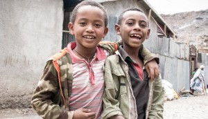 Two boys Shamida Ethiopia