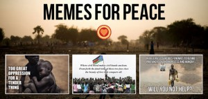 memes for peace collage